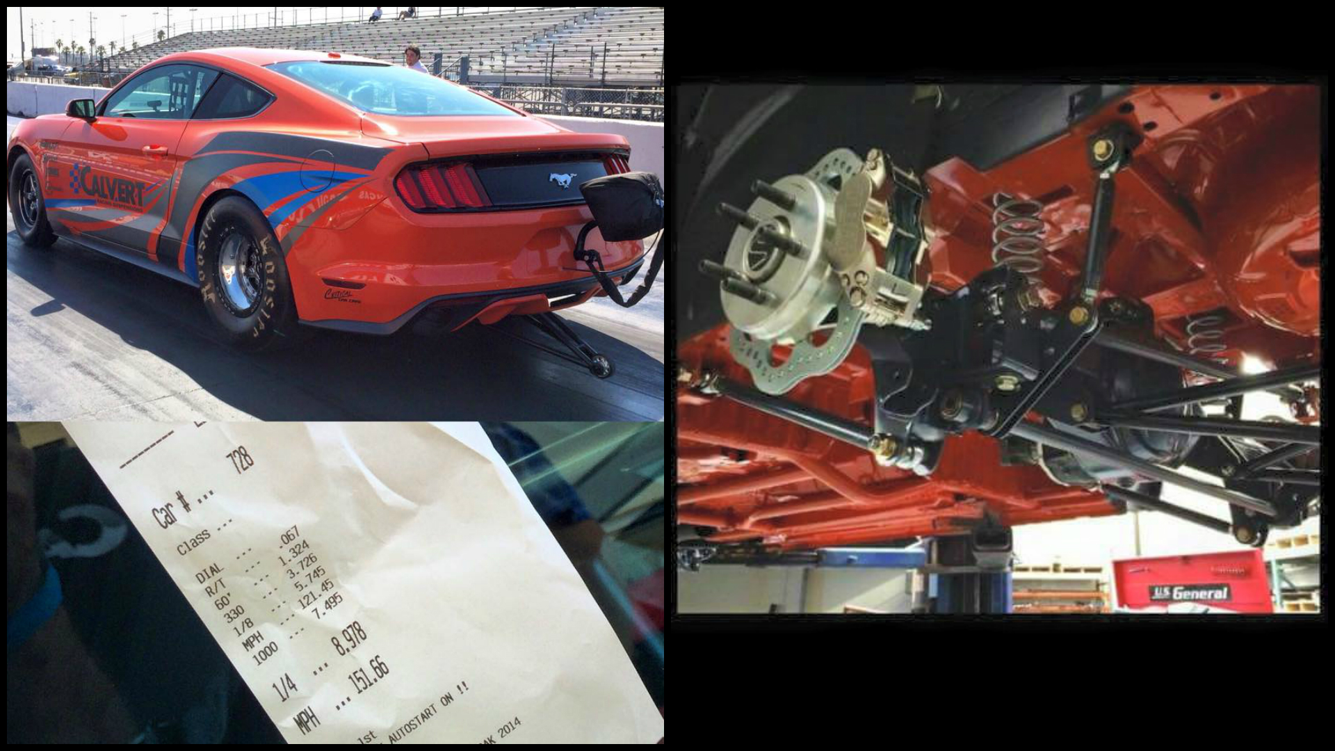 Mustang Cobra Jet >> 2015 Mustang Gets Solid Rear Axle Conversion as Cobra Jet Test Car, Does 8s Quarter Mile ...