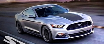 2015 Mustang Rendered with Steeda Updates