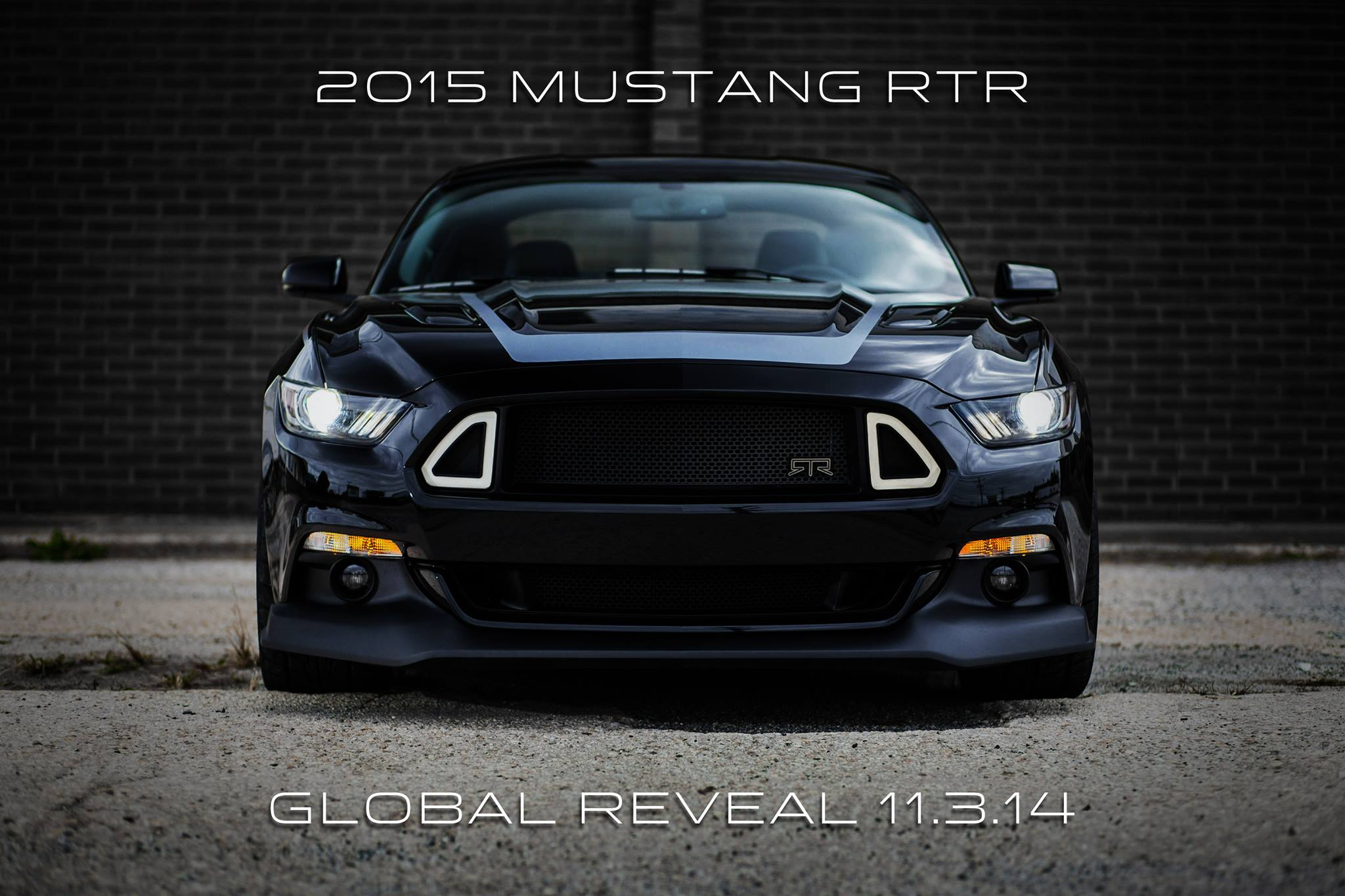 2015 Mustang Rtr By Vaughn Gittin Jr Teased One Last Time
