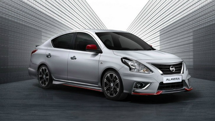 2015 nissan almera nismo performance packs 101 hp in. Black Bedroom Furniture Sets. Home Design Ideas