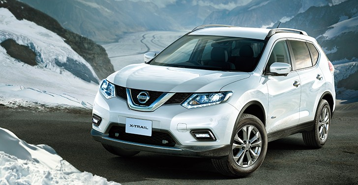 2015 nissan x trail hybrid launched in japan autoevolution. Black Bedroom Furniture Sets. Home Design Ideas