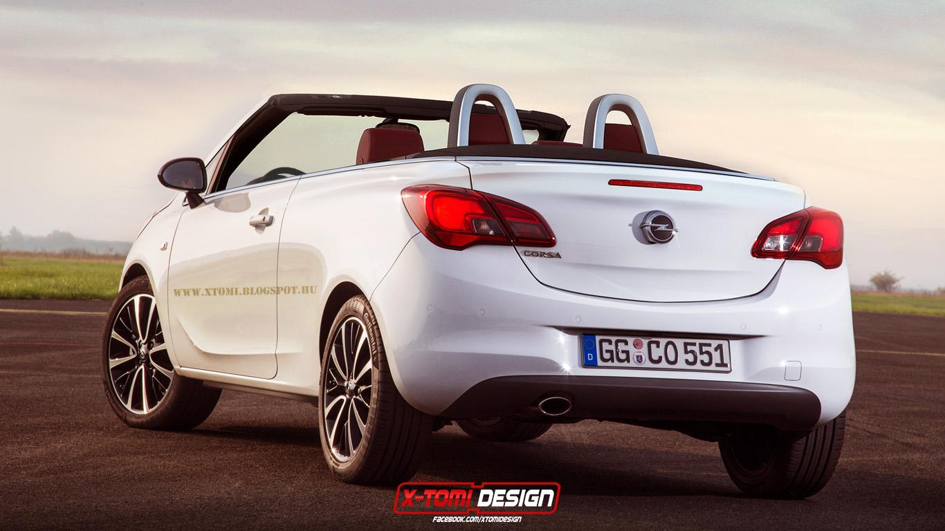 2015 opel corsa cabrio looks hot but would never sell autoevolution. Black Bedroom Furniture Sets. Home Design Ideas
