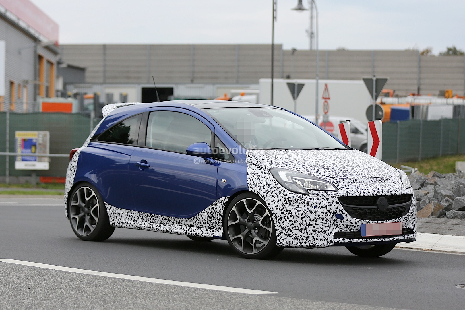 2015 opel corsa opc spied testing autoevolution. Black Bedroom Furniture Sets. Home Design Ideas