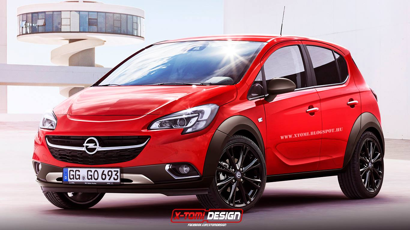 2015 opel corsa rocks rendering autoevolution. Black Bedroom Furniture Sets. Home Design Ideas