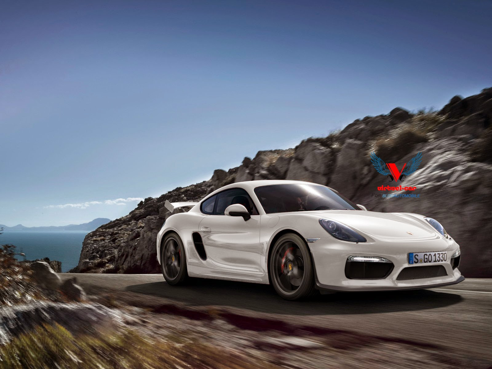 ... Porsche Cayman GT4 Rendered: More Power and a Big Wing - autoevolution