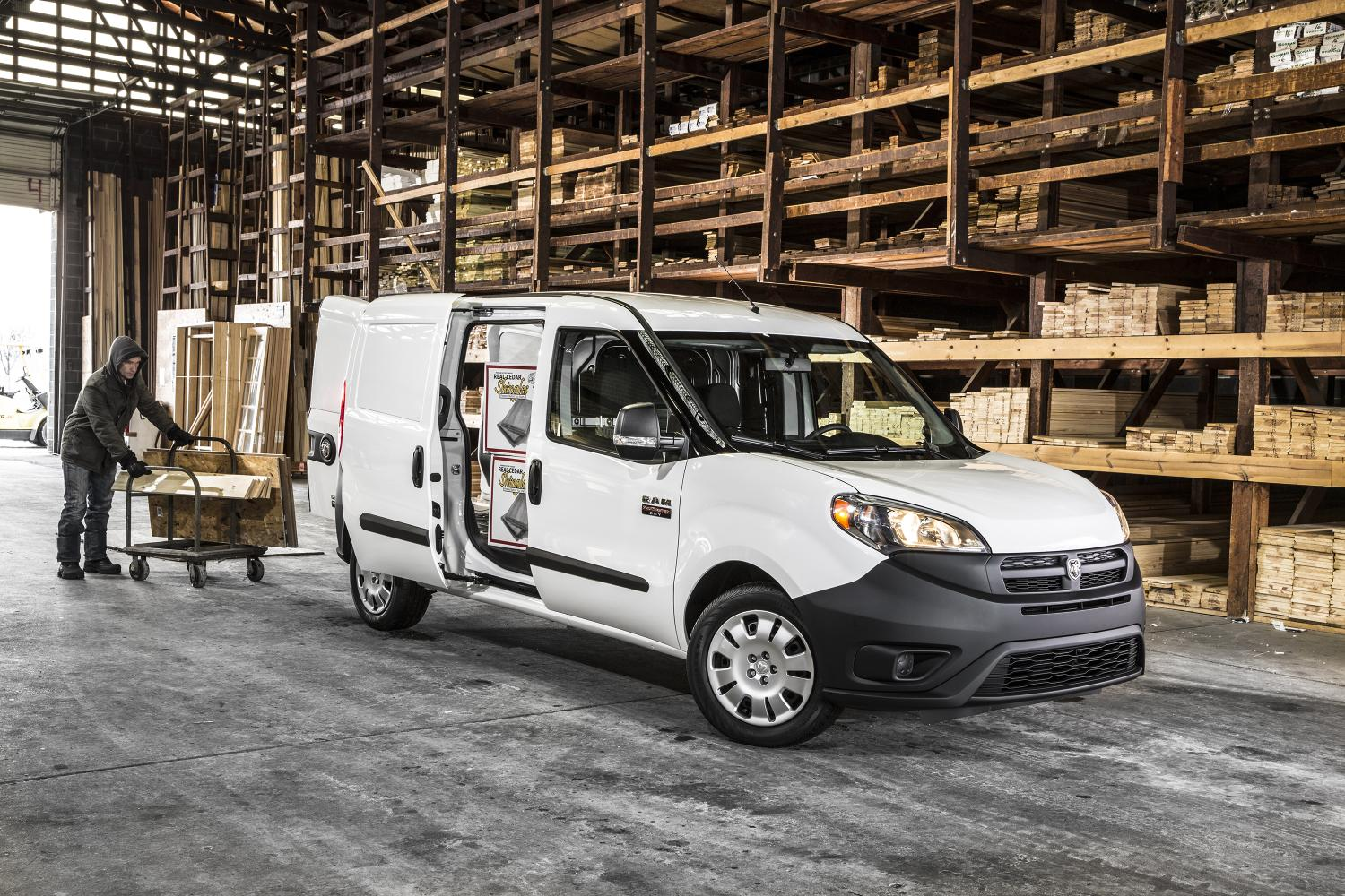 2015 ram promaster city priced from 23 130 autoevolution. Black Bedroom Furniture Sets. Home Design Ideas
