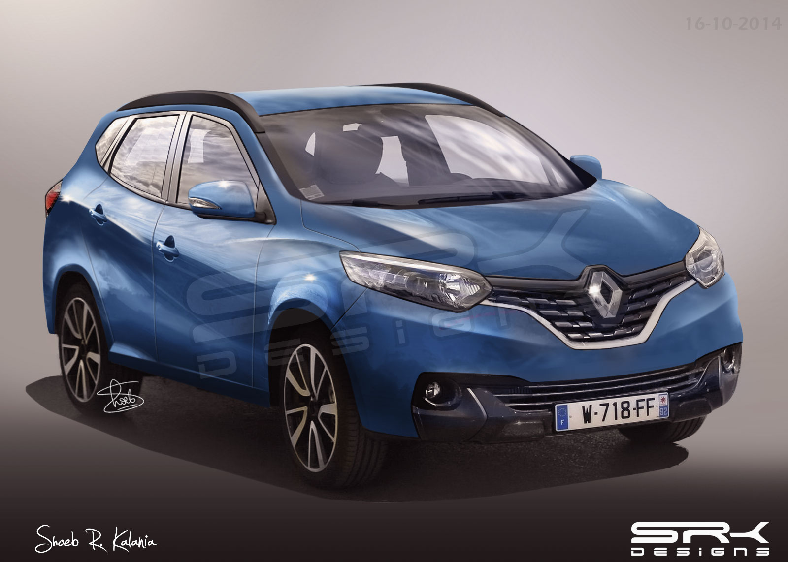 2015 Renault Kadjar Compact Crossover to Debut on February 2 - autoevolution