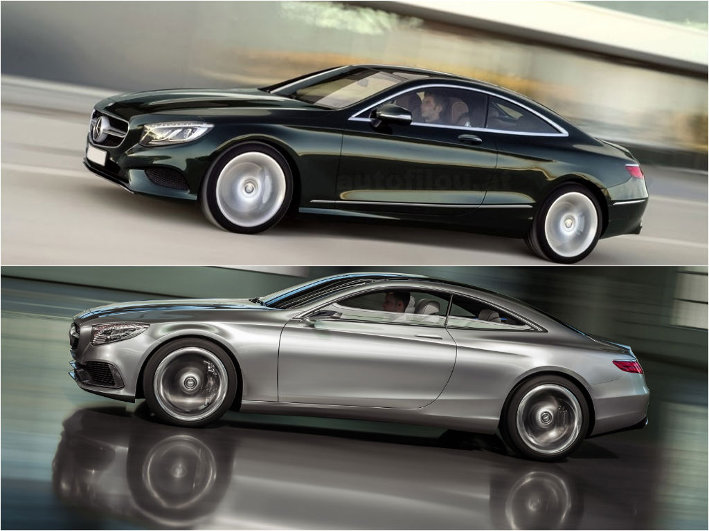 2015 S-Class Coupe (C217) Looks Almost Like The Concept