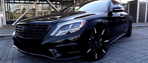 2015 S-Class W222 Riding on Lexani LF 22 Inchers [Video]