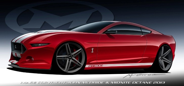 2015 Mustang Shelby GT500