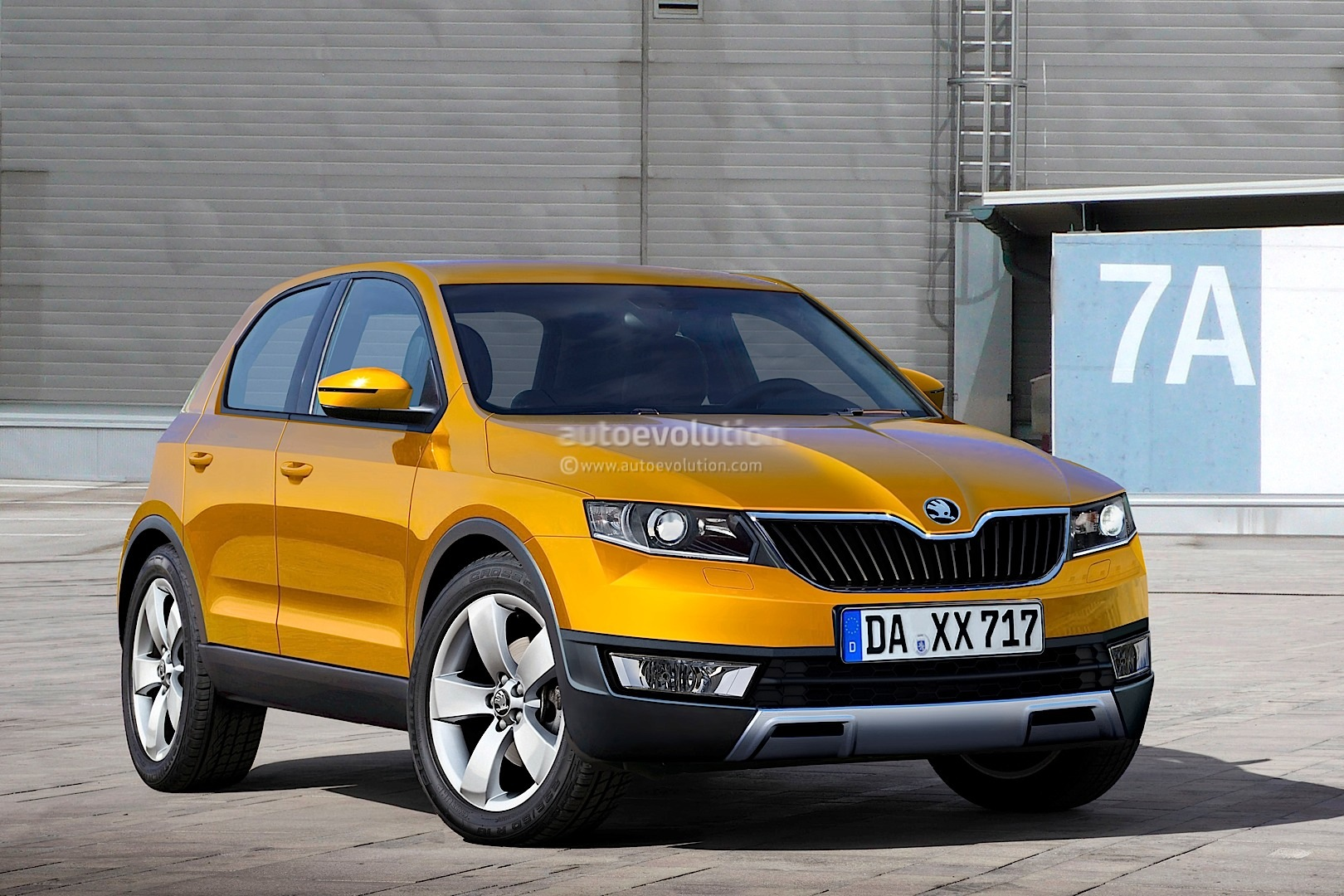 2015 Skoda Polar Rendered - autoevolution