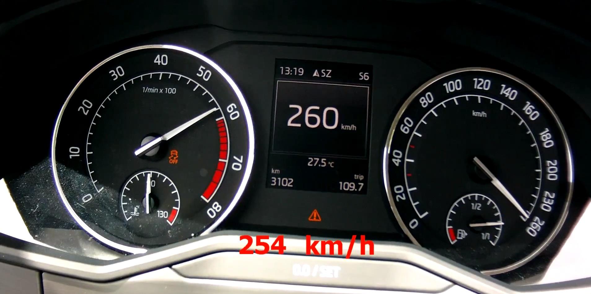 2015 Skoda Superb 2 0 Tsi 280 Hp Acceleration Test Autoevolution