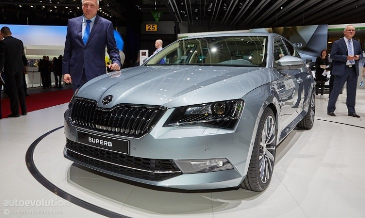 2015 Skoda Superb Is Bigger and More Luxurious at Geneva Debut - Live Photos