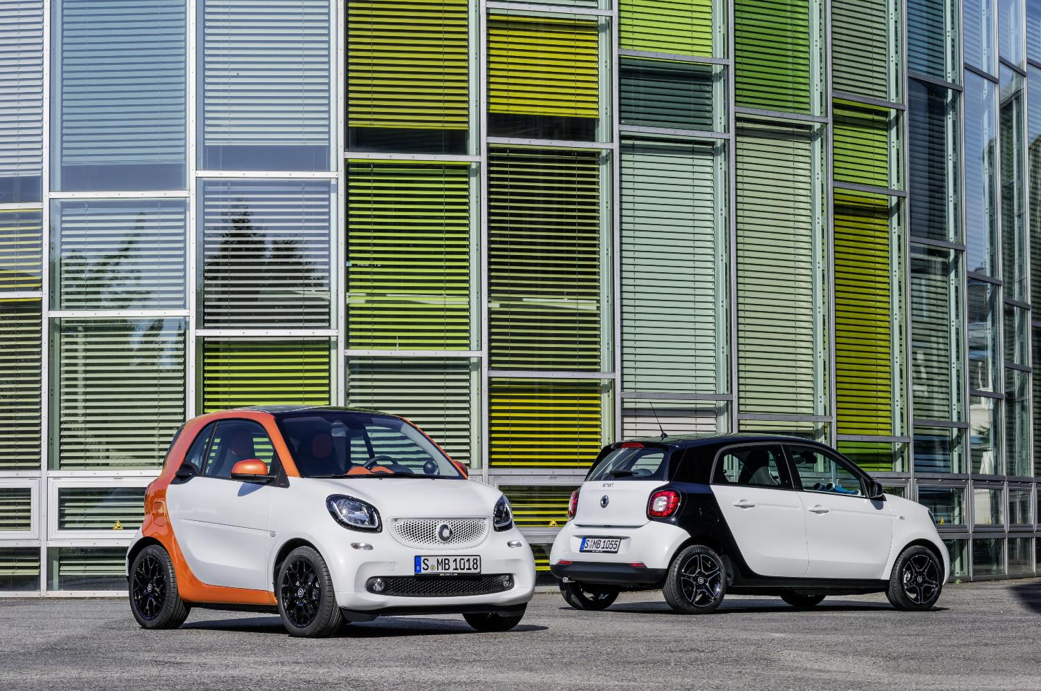 2015 smart fortwo & forfour Specifications Officially ...