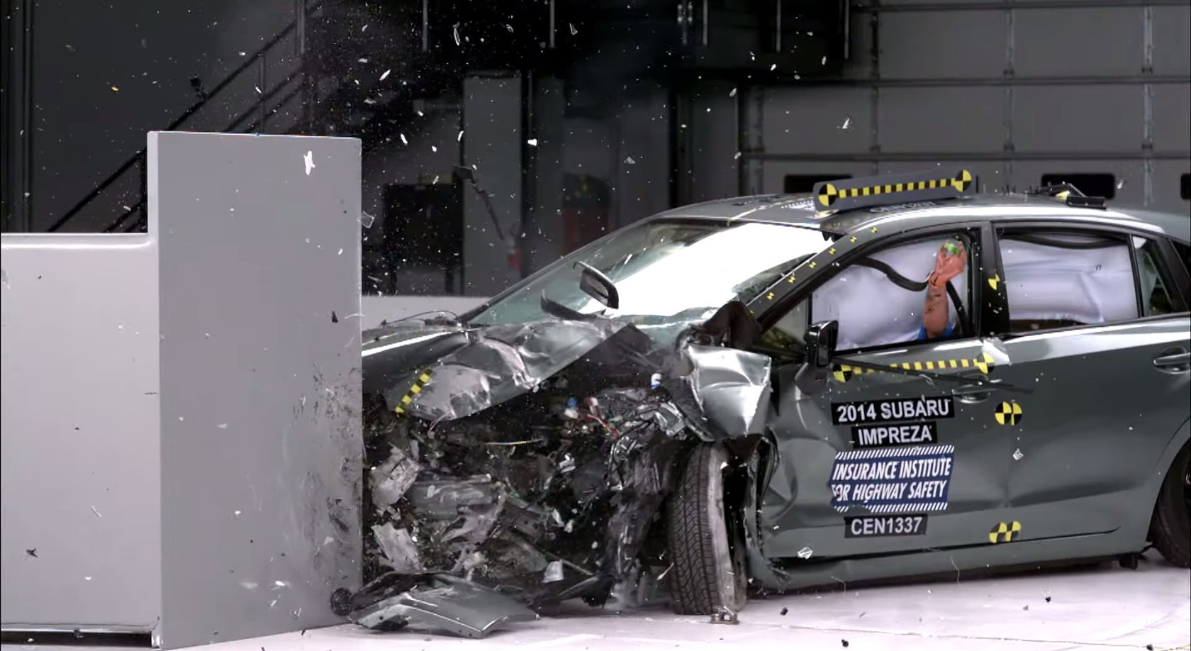 2015 Subaru Impreza Earns Top Safety Pick Rating From the IIHS
