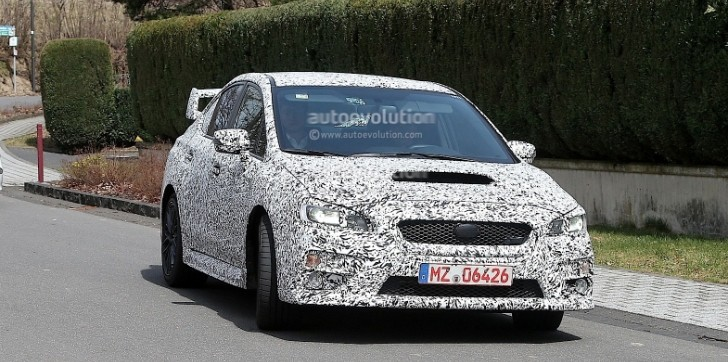 2015 Subaru WRX Headed for Los Angeles Debut