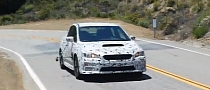 2015 Subaru WRX Prototype Caught Testing [Video]