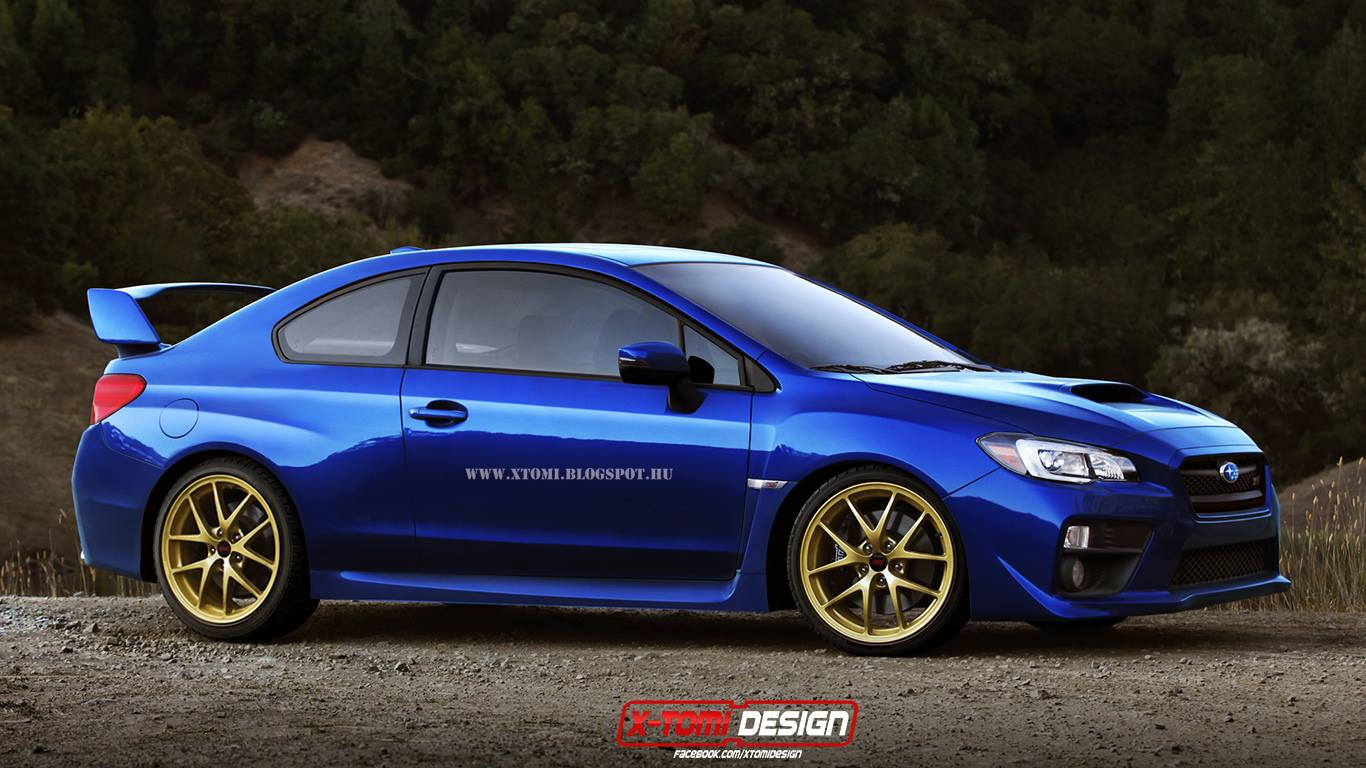 2015 subaru wrx sti coupe what should have been built autoevolution. Black Bedroom Furniture Sets. Home Design Ideas