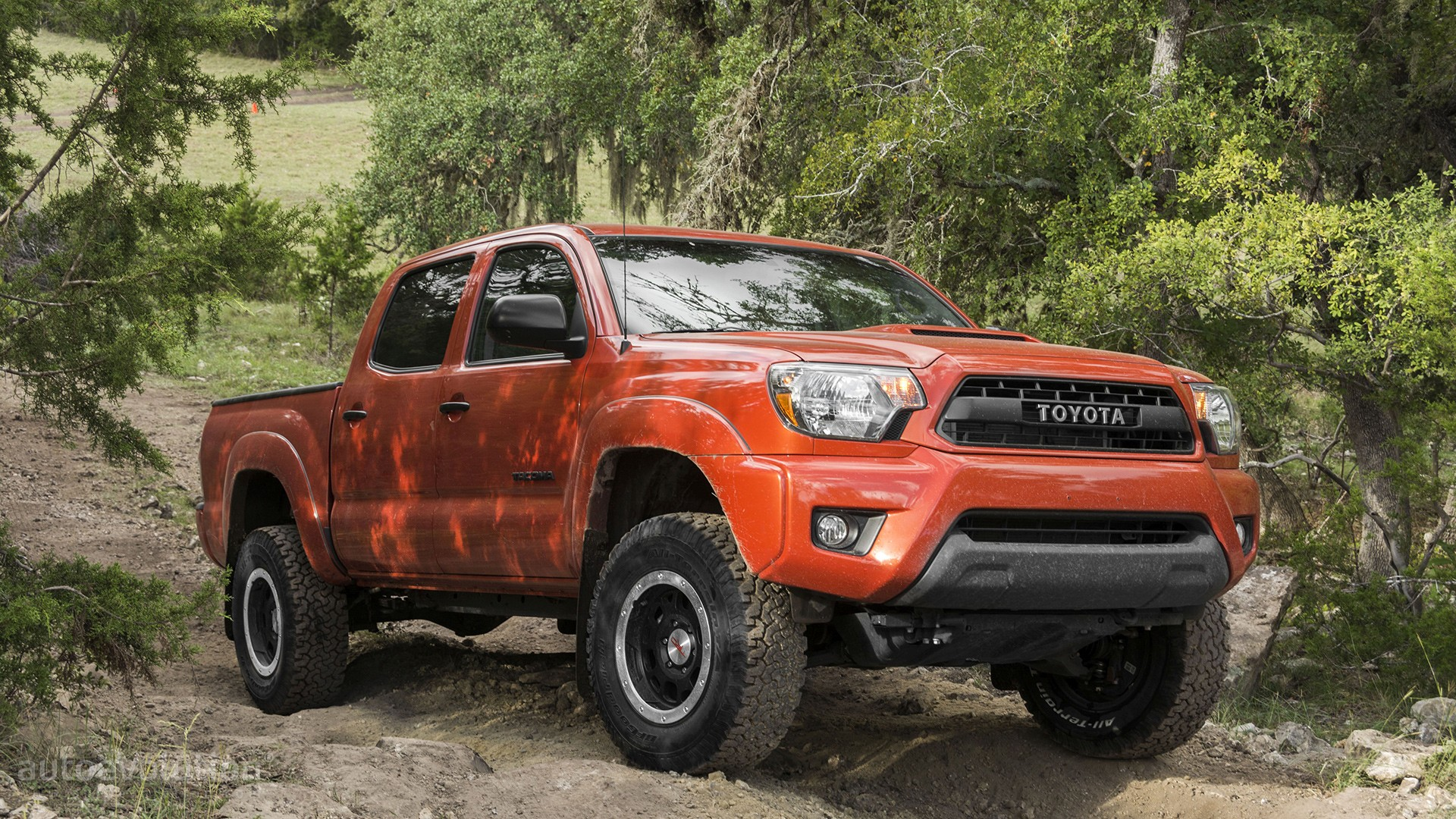 Toyota Tacoma Evolution >> 2015 Toyota Tacoma TRD Pro HD Wallpapers: Conquering Jurassic World - autoevolution