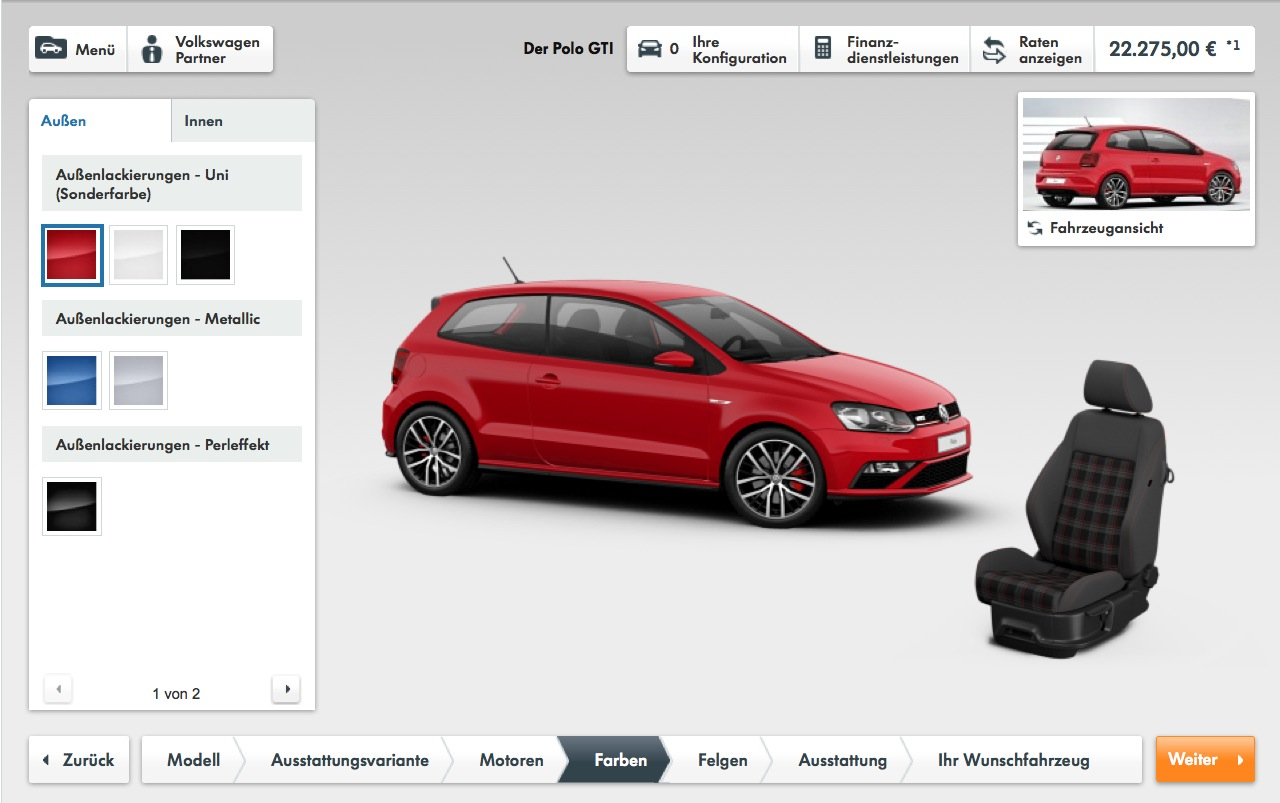 2015 volkswagen polo gti pricing announced in germany autoevolution. Black Bedroom Furniture Sets. Home Design Ideas