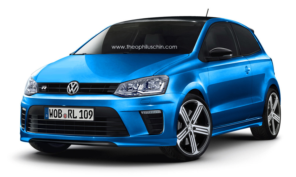2015 Volkswagen Polo R Four Wheel Drive 230 HP Hot Hatch Coming