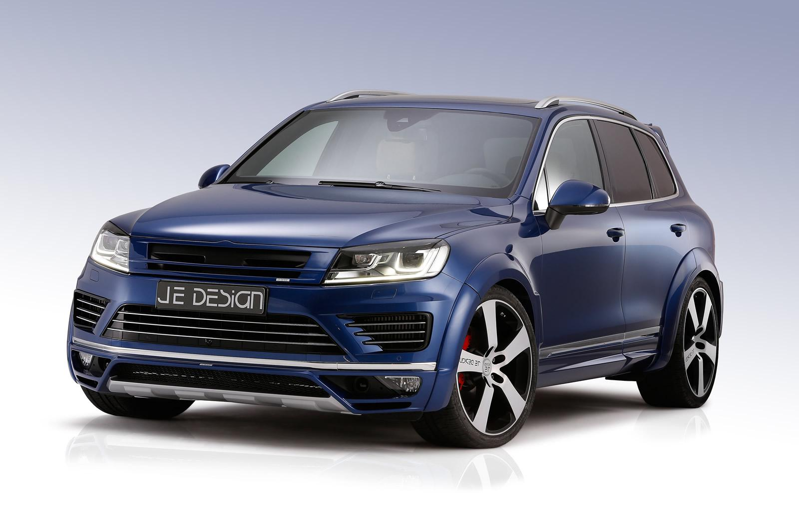 2015 volkswagen touareg facelift tuned by je design gets 410 hp of diesel power autoevolution. Black Bedroom Furniture Sets. Home Design Ideas