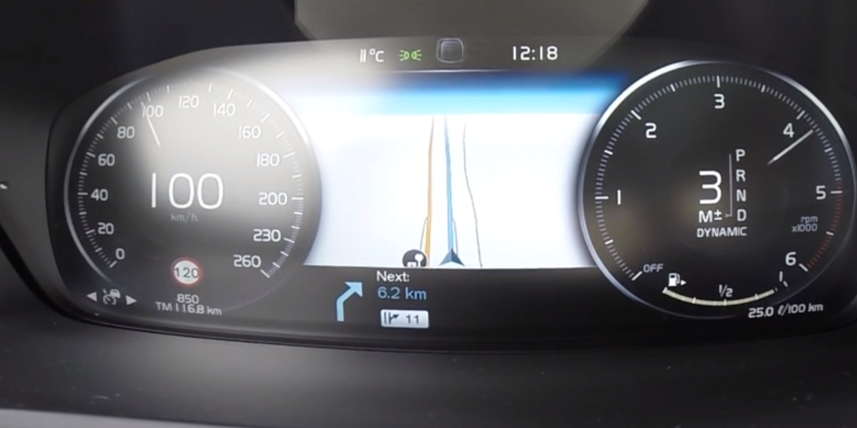 2017 Volvo Xc90 D5 Subjected To 0 100 Km H Acceleration Test