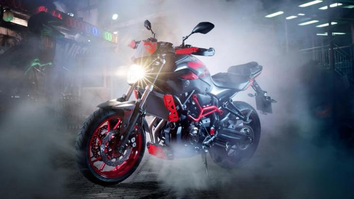 2015 Yamaha MT-07 Moto Cage Ready for Stunts, Cool Price ...