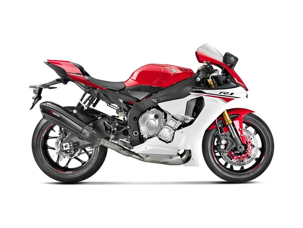 2015 yamaha yzf r1 receives akrapovic 39 s r evolutionary. Black Bedroom Furniture Sets. Home Design Ideas