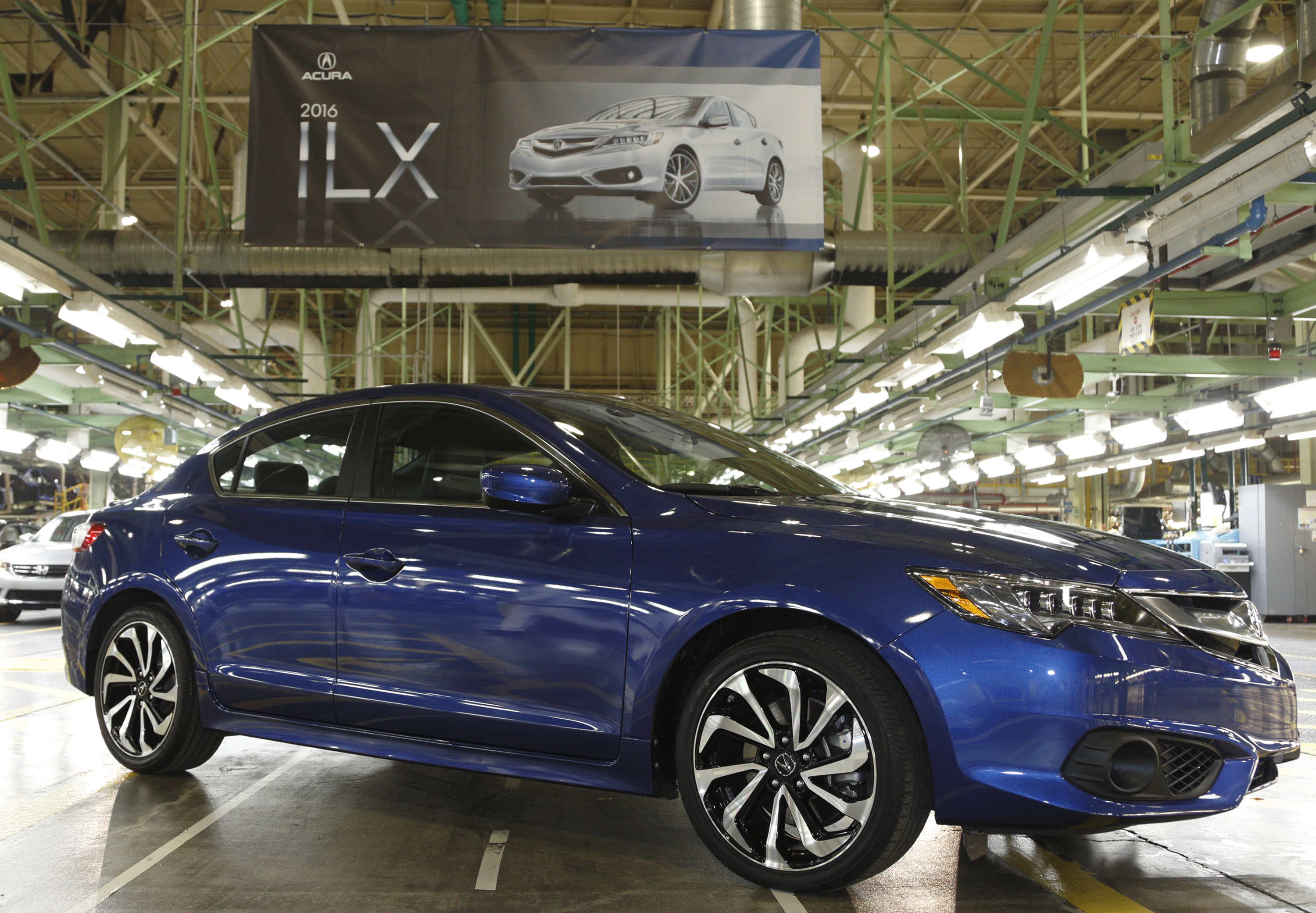 2016 Acura ILX Starts Production at Marysville Auto Plant in