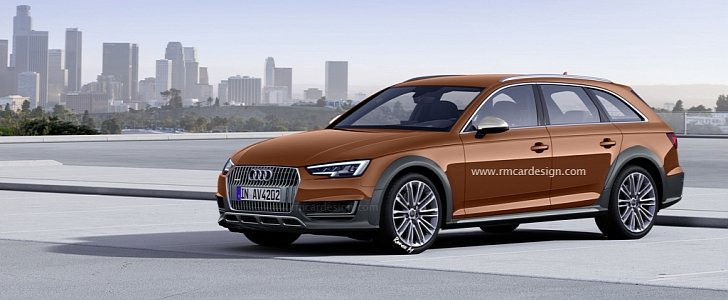 2016 audi a4 allroad rendered quattro competitor for. Black Bedroom Furniture Sets. Home Design Ideas