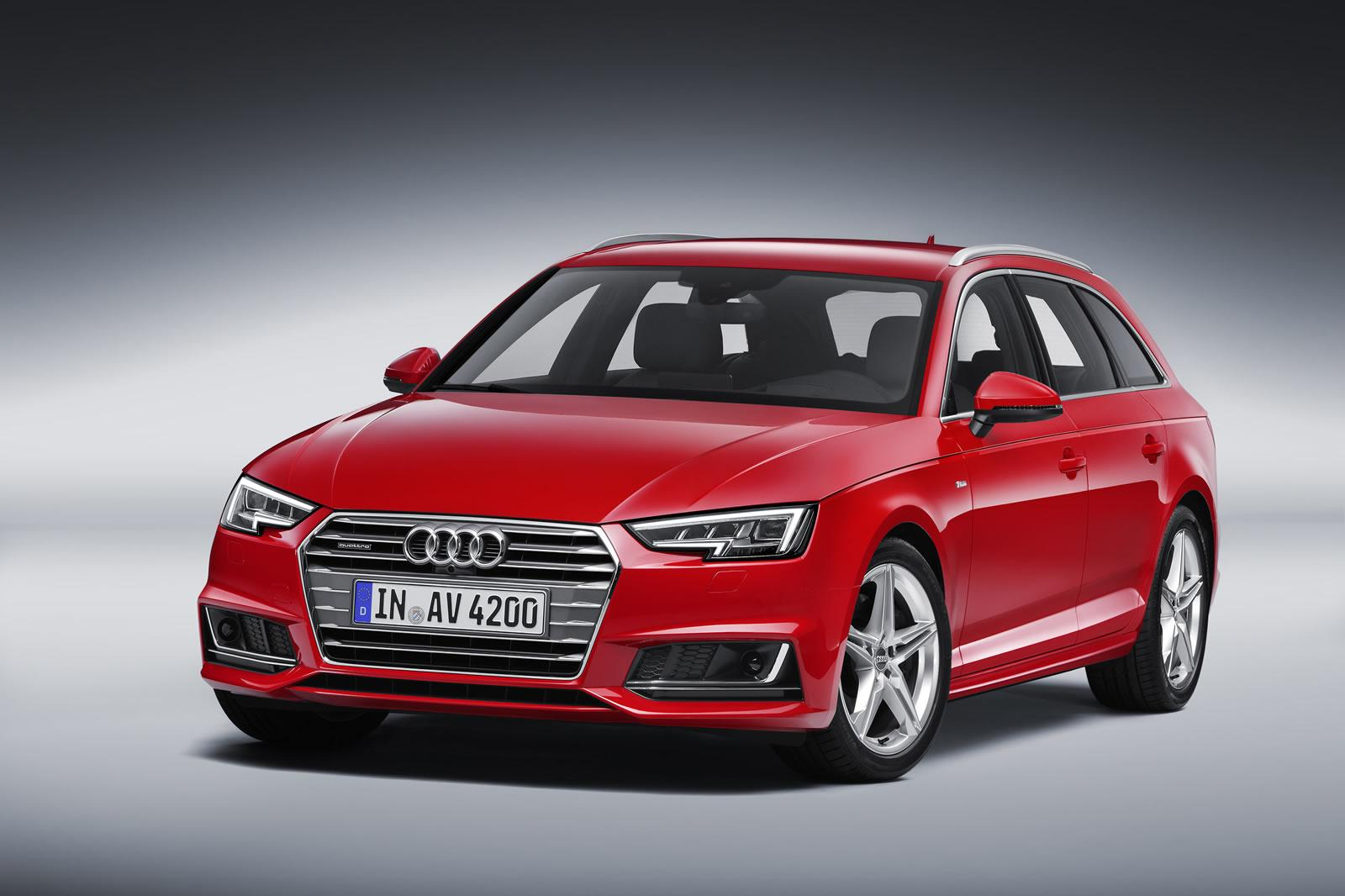 2016 audi a4 avant b9 photos videos and details. Black Bedroom Furniture Sets. Home Design Ideas