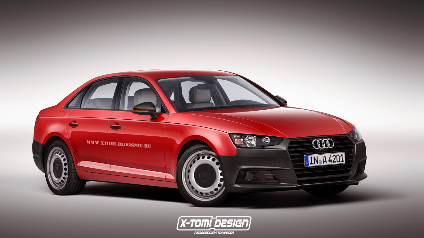 2016 Audi A4 Rendered In Base Spec Trim Instantly Becomes