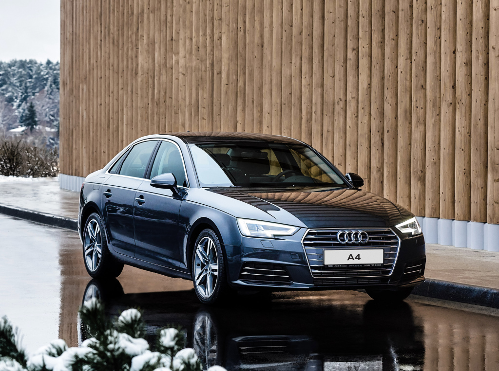 2016 audi a4 with 1 4 turbo engine takes acceleration test. Black Bedroom Furniture Sets. Home Design Ideas