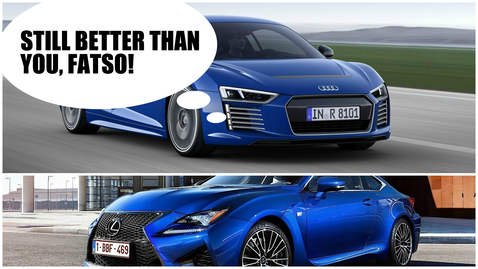 Audi R Etron Weighs A Hefty Kg Same As Lexus RC F - Audi r8 e tron
