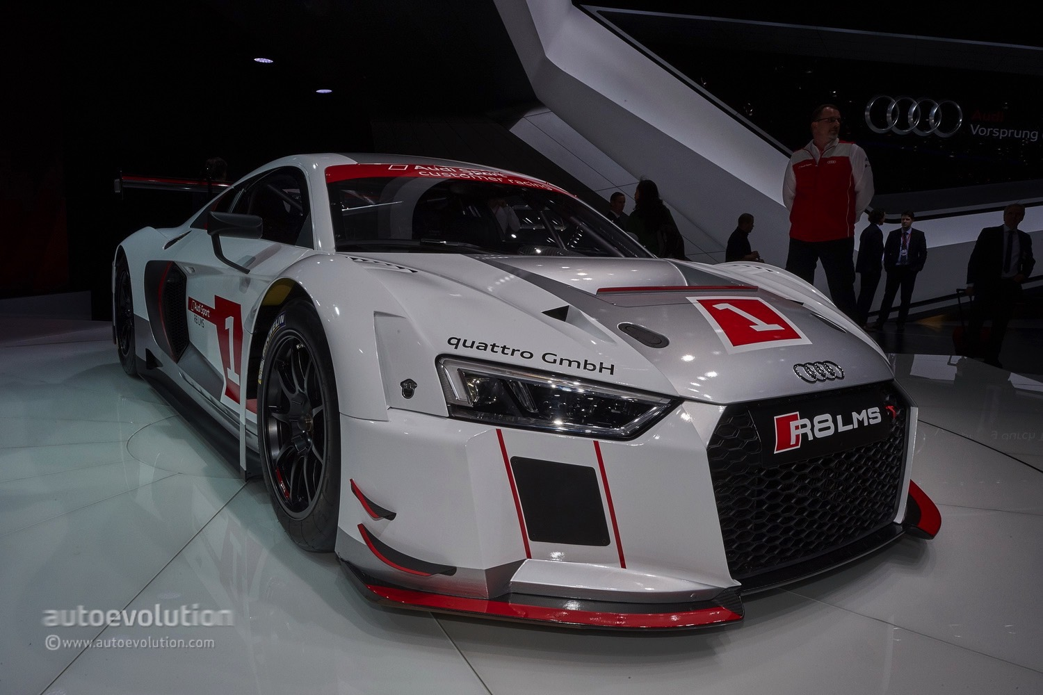 2016 Audi R8 Lms Races Into Gt3 With Stiffer Chassis And