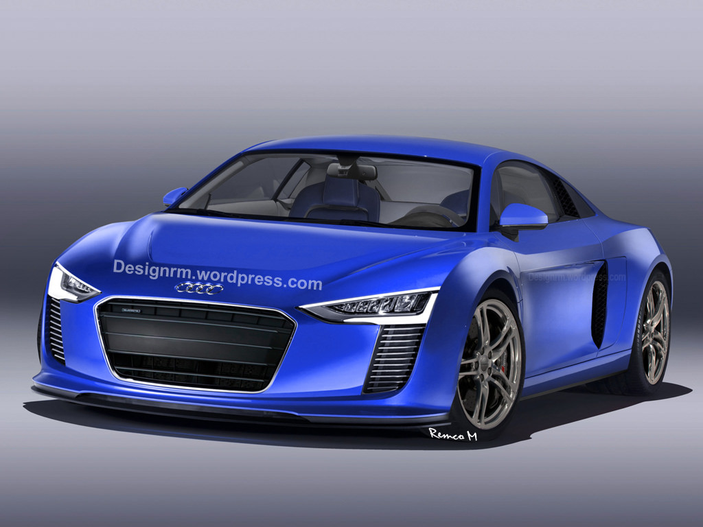 2016 Audi R8 Rendered Autoevolution
