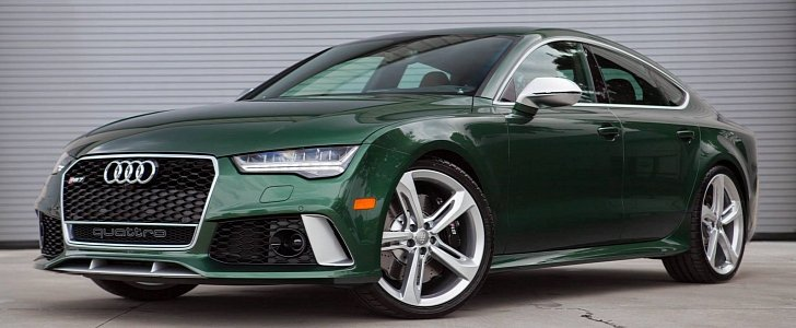 2016 audi rs7 in verdant green looks like a bentley autoevolution. Black Bedroom Furniture Sets. Home Design Ideas