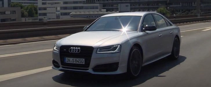 2016 Audi S8 Plus Returns In Two Trailer Videos Lets Us Hear The