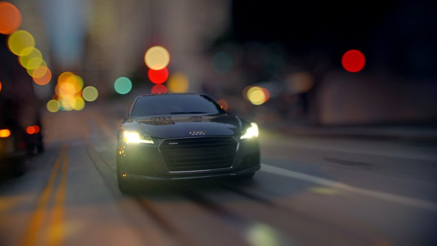 Audi TT Reality Check Is The Best TiltShift Car Video Ever - Audi car commercial