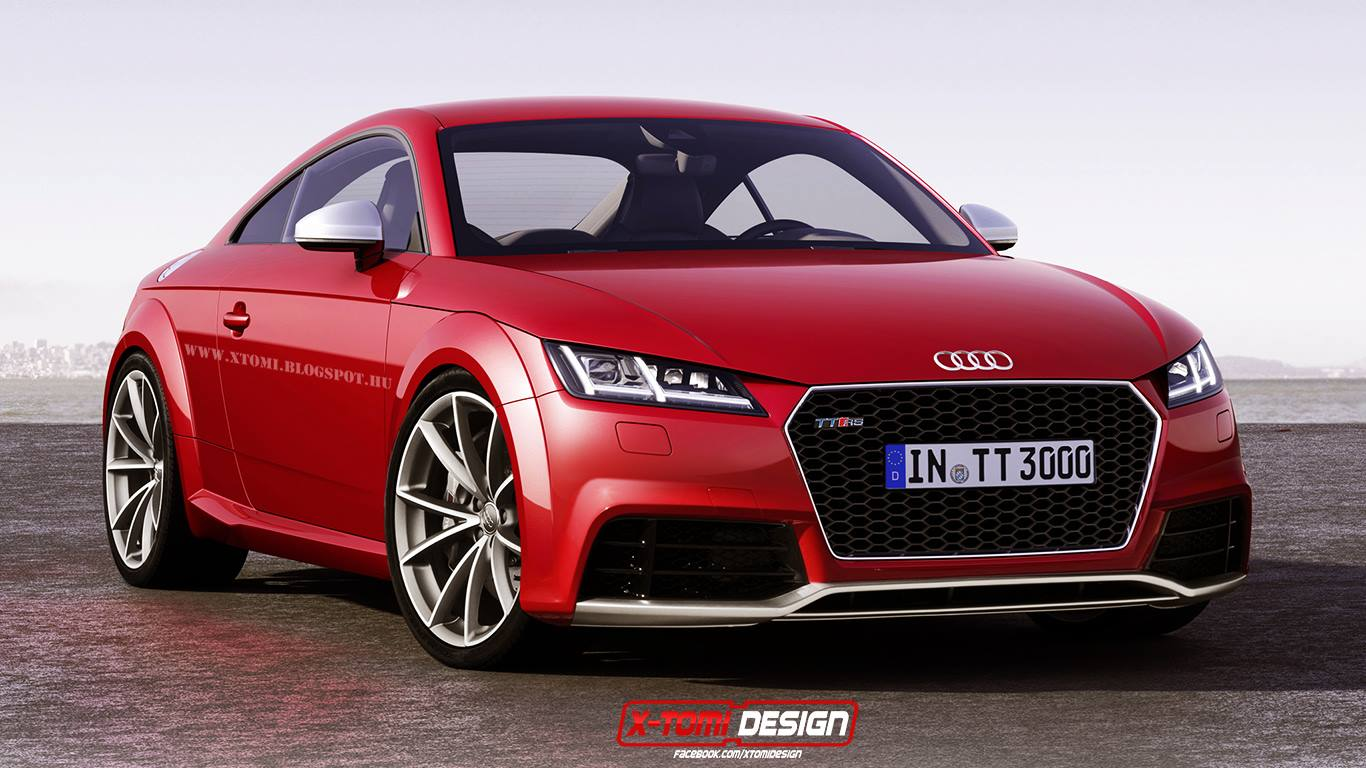 2016 audi tt rs the fastest mqb car ever autoevolution. Black Bedroom Furniture Sets. Home Design Ideas