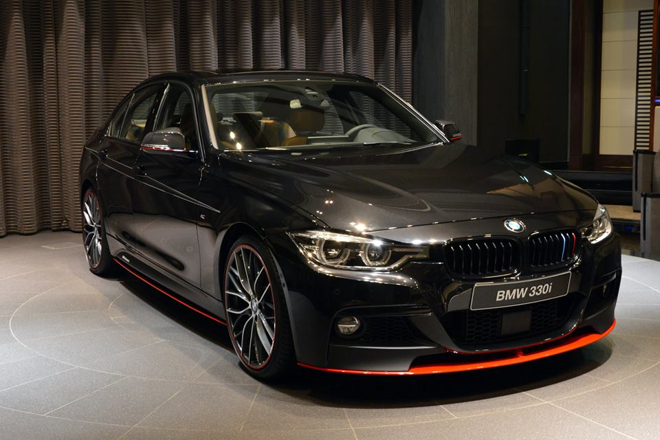 2016 BMW 330i with M Performance Parts Shows the New Face ...