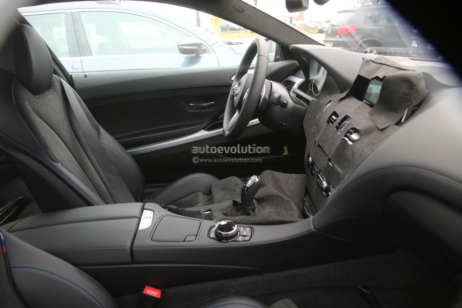 5 Photos 2016 BMW 6 Series Facelift Interior