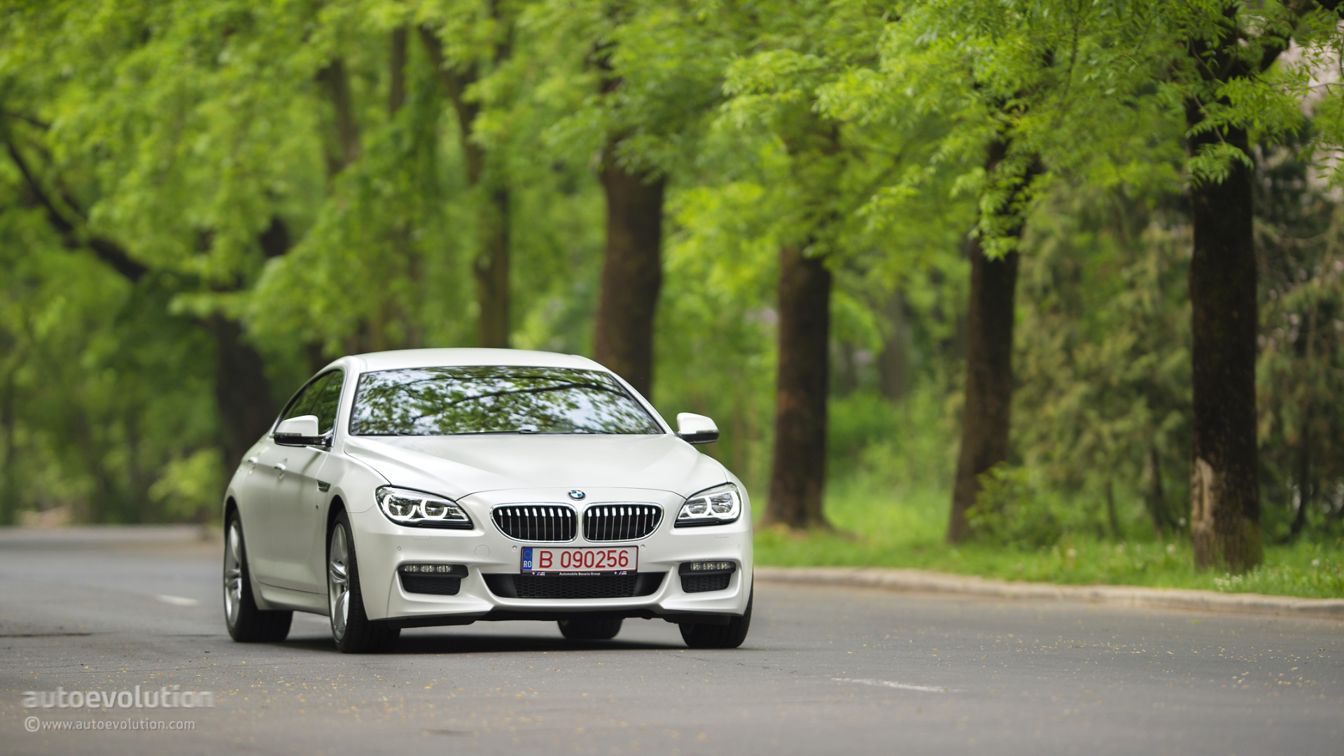 2016 Bmw 6 Series Gran Coupe Wallpapers Bring On The Frozen Paint Autoevolution