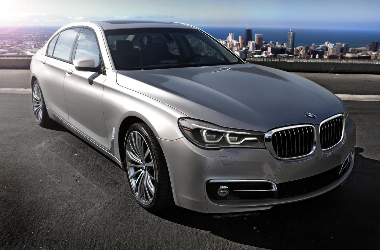 2016 BMW 7 Series Rendering Looks Like a Wild Stab in the