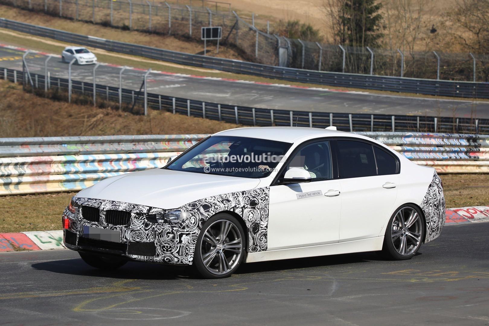 2016 Bmw F30 3 Series Facelift Plug In Hybrid Starts Nurburgring