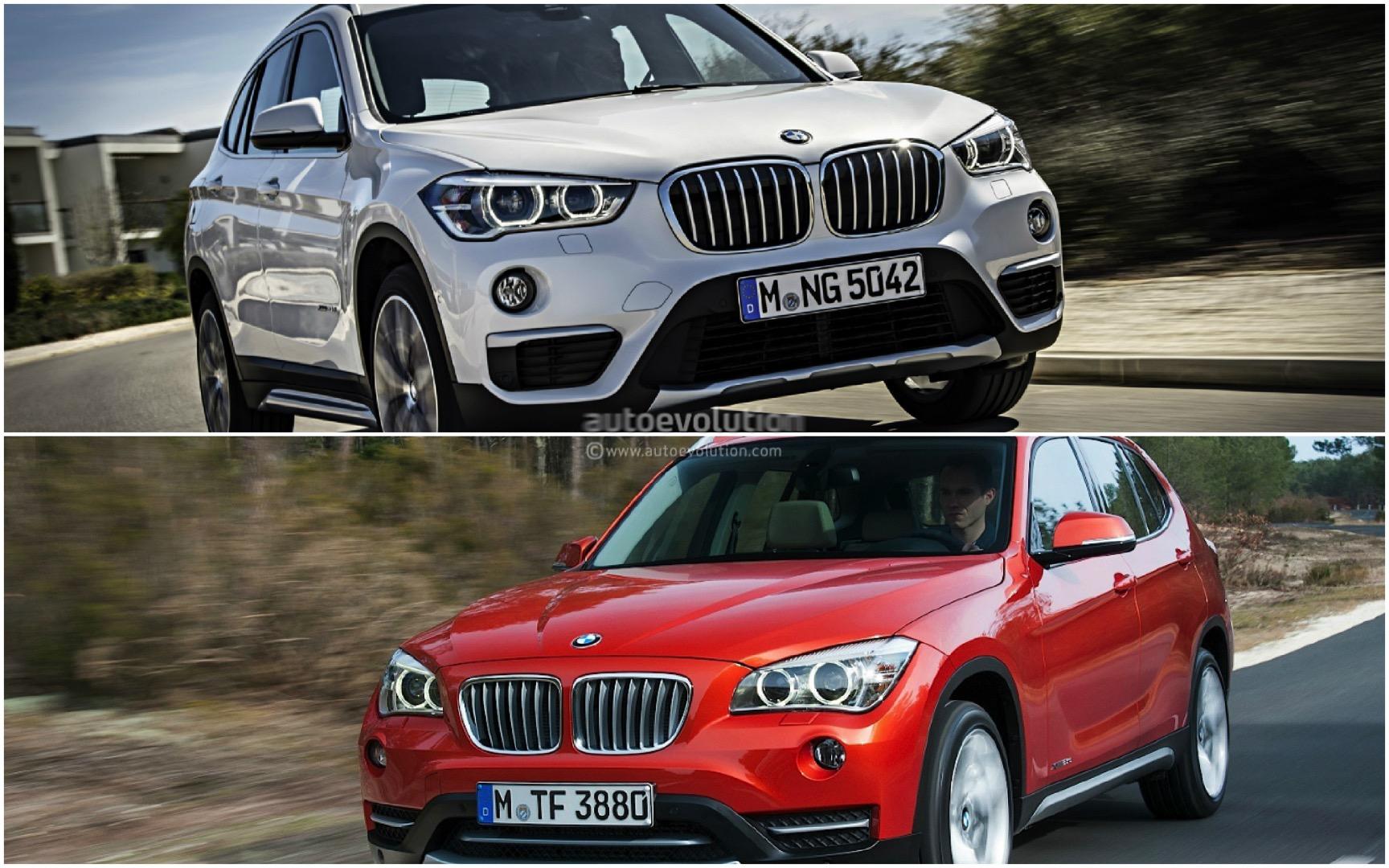2016 bmw f48 x1 vs bmw e84 x1 photo comparison