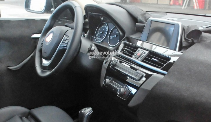 2016 Bmw F48 X1 Interior Revealed Almost In Full Autoevolution