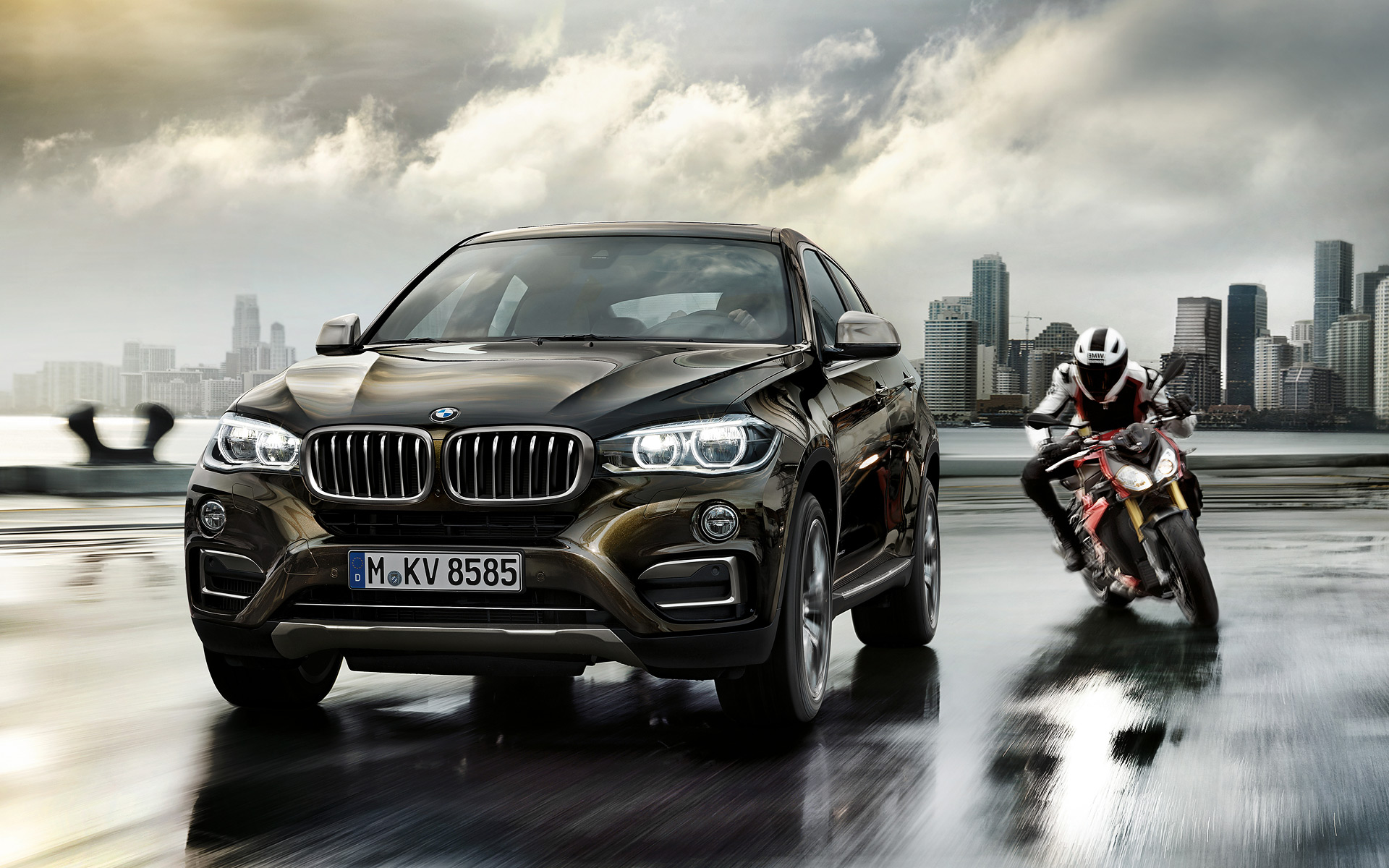 2016 bmw x6 wallpapers autoevolution. Black Bedroom Furniture Sets. Home Design Ideas