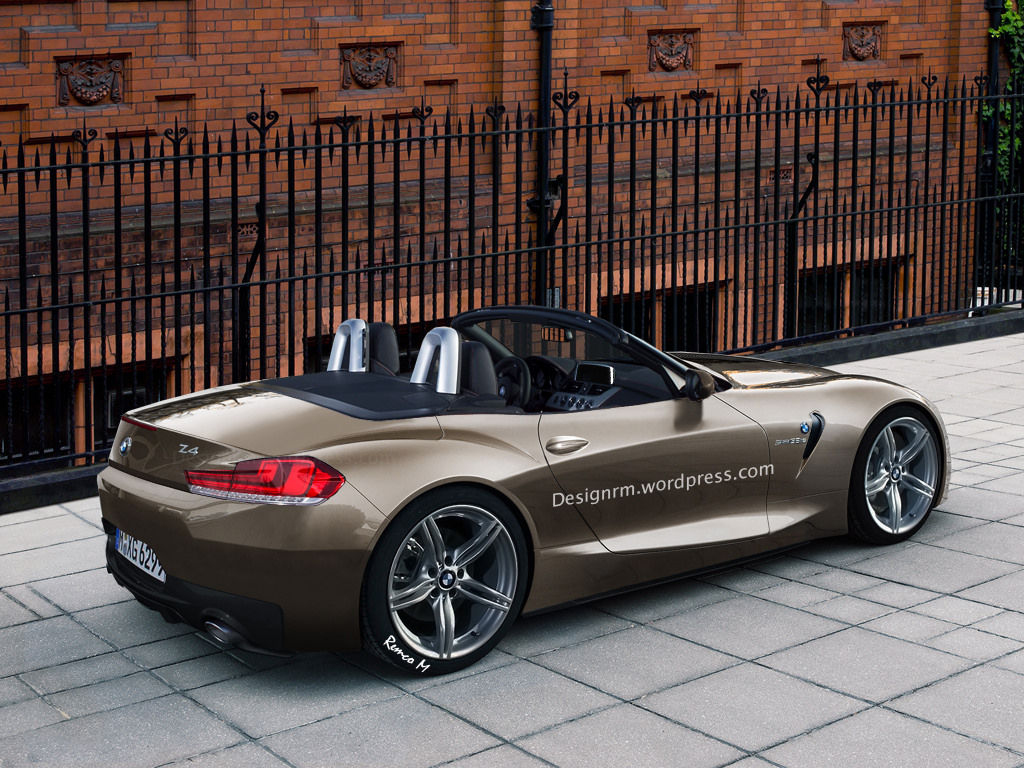 2016 BMW Z4 Rendered